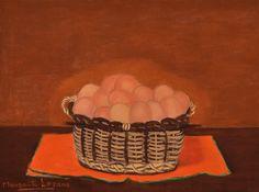 Margarita Lozano - Canasto con huevos, 2010