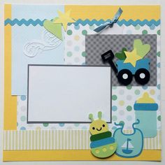 Baby+boy+scrapbook+page++12x12+Baby+boy+scrapbook++by+ohioscrapper