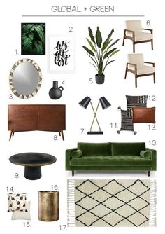 Press Releases and Ebooks – Living Room Ideas Press Releases and Ebooks The next home decor ideas will be going to be the ones you'll be wanting and needing this Summer home decor trends! Living Room Green, Boho Living Room, Living Room Sofa, Apartment Living, Apartment Design, Green Family Rooms, Forest Green Bedrooms, Living Spaces, Green Rooms