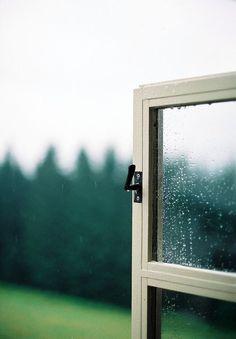 Morning rain.