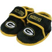 Green Bay Packers Mascot | Green Bay Packers Infant Plush Slippers - Green