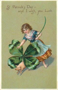 St Patrick's Day souvenir
