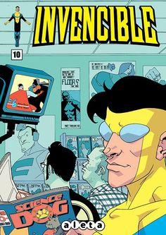 Portada del #Invencible Nº10 de Cory Walker. Edición española de Aleta Ediciones para la edición digital en #Koomic.
