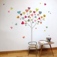 Heart Tree - kid wall sticker. $35.00, via Etsy.