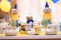 CT's Minion Style | CatchMyParty.com