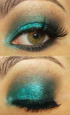 Maquiagem de sereia <3