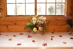 Rustic fall wedding at Garnet Hill Lodge place cards. Our Wedding, Wedding Venues, Fall Wedding Flowers, Log Homes, Garnet, Building A House, Place Cards, Rustic, Weddings