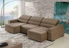 Resultado de imagem para sofa retratil e reclinavel