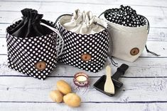 Sewing Basics, Sewing Hacks, Coin Couture, Diy Accessoires, Diy Presents, Fabric Bags, Cool Fabric, Bucket Bag, Purses And Bags