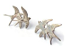 Hey, I found this really awesome Etsy listing at https://www.etsy.com/listing/232034124/vintage-ortak-sterling-silver-swallow