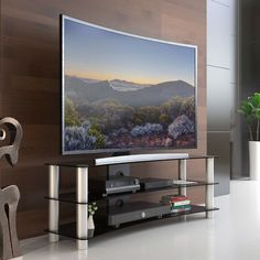 8 Best Tv Stand Shelf Console Images Tv Stand Shelves Glass Tv