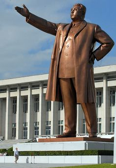 Kim Il Sung, North Korea - this pig shoulda been fed to the pigs