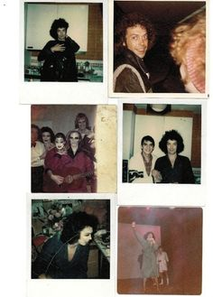 FOUND: LOST BEHIND-THE-SCENES POLAROIDS FROM 'THE ROCKY HORROR PICTURE SHOW