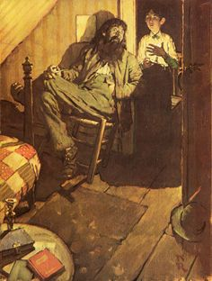 Norman Rockwell's Rare Illustrations for The Adventures of Huckleberry Finn