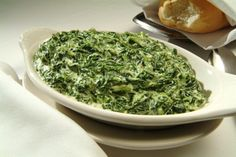 I mentioned before that I had a great recipe for Creamed Spinach. Like some of the other recipes I have blogged about, it too is from Julia Child and Jacques Pepin's cookbook: Cooking at Home. I ...