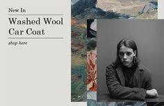 Washed Wool Car Coat - shop here