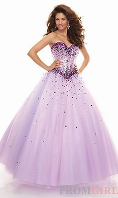 Look like a princess in this ball gown.
