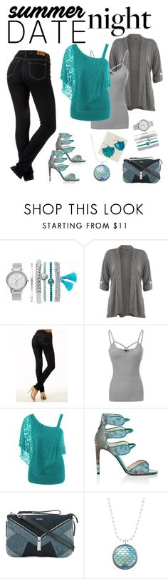 """Smokin' Hot: Summer Date Night"" by miriam-witte ❤ liked on Polyvore featuring WearAll, Chloe Gosselin and Diesel"