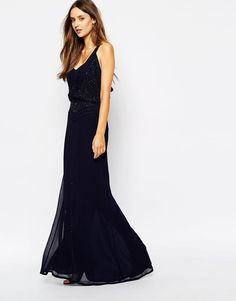 French Connection | French Connection Eivissa Maxi Dress with Beading at ASOS