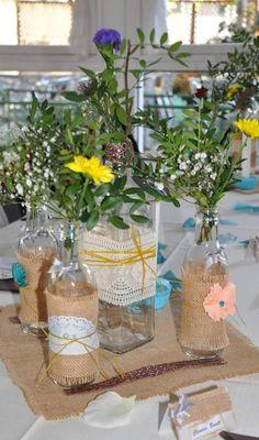 Joly & Nany y sus manualidades: Centros de mesa para bodas