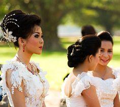 Cambodian Bride  #wedding #dress #bride http://www.illusionbridals.com/