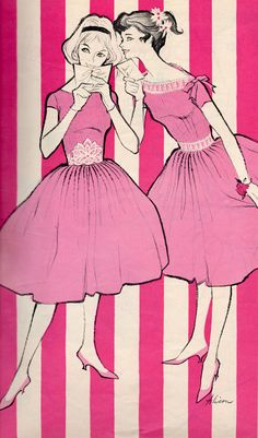Fashion Dolls and Fashion Scans Fashion Dolls, Retro Fashion, Vintage Fashion, Fashion Illustration Vintage, Fashion Illustrations, 1960s Outfits, Seventeen Magazine, Pin Up Art, Vintage Patterns