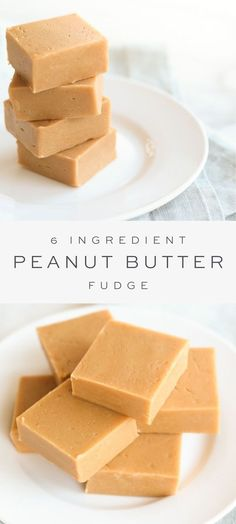 This easy, creamy Peanut Butter Fudge is extremely popular during the holiday season and it's no wonder why – it's ridiculously good. With just 6 staple ingredients and 10 minutes hands on time, this easy fudge recipe makes the perfect holiday treat! Best Peanut Butter Fudge, Microwave Peanut Butter Fudge, Creamy Peanut Butter, Easy Peanut Butter Recipes, Peanut Butter Candy, Sugar Candy, Nutter Butter, Sweet Desserts, Easy Desserts