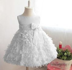 >> Click to Buy <<  New girls floral bow dress children fashion Princess Dress party dress wedding dress 3-8Y #Affiliate
