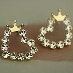 Princess Hearts Earrings