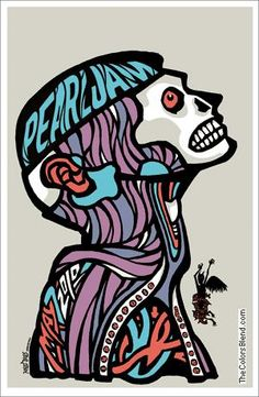 ☆ Pearl Jam Poster :: Artist Ames Bros. ☆