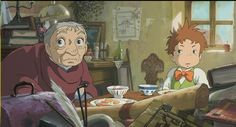 Howl's Moving Castle Screenshot Interior Reference Precleaning