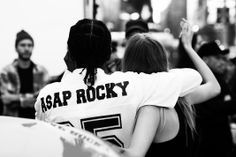 Asap Rocky and Cara Delevingne DKNY campaign
