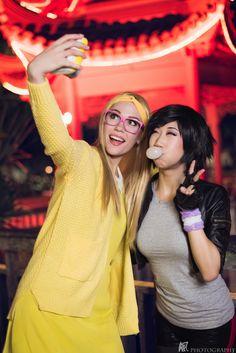 Honey Lemon and Gogo | Honey Lemon www.facebook.com/Nyftee Gogo Tamago www.facebook.com/Danisaurz Series: Big Hero 6