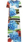 PREEN BY THORNTON BREGAZZI  Wyatt printed silk crepe de chine maxi dress