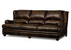 Tristan Leather Sofa by Randall Allan