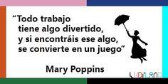 """""""Buenos días y Feliz Lunes!!! #Frases de Mary Poppins."""