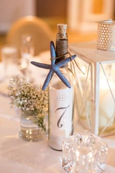 message in a bottle table numbers