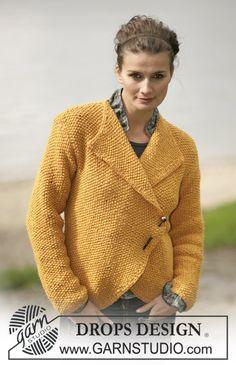 DROPS Jacket in Alpaca and Glitter ~ DROPS Design