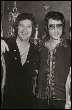 Tom Jones and Elvis Presley