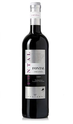 Fontal, Crianza 2009, D.O. La Mancha, Tempranillo 85% Cabernet Sauvignon15% lo venden en Carrefour, unos 6€ aprox. No mucho cuerpo, lo cual para mi gusto le quita fuerza, pero suave y fácil de beber