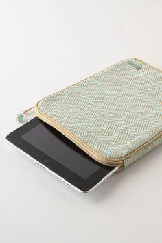 amagansett tablet computer case from anthropologie