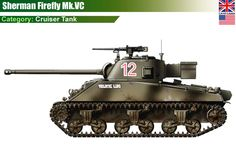"US Sherman Mk.VC ""Firefly"" Cruiser Tank"