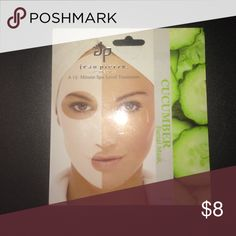 Cucumber Facial mask Spa level face treatment cloth with natural nutrients ( Directions in the back as well) Other