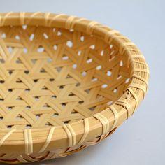 Studio KotoKoto | Double Weave Kikko Basket--note to self to try a similar lashing on a rim