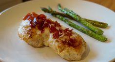 Sautéed Chicken with Mozzarella and Prosciutto - FlavorFinds.com