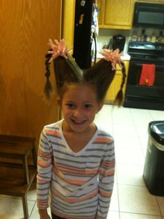 Brilliant Crazy Hair Day Hairstyles For Kids Icecream Hair And Hair Bows Short Hairstyles For Black Women Fulllsitofus