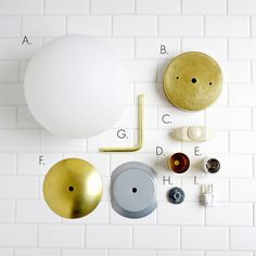 DIY - Make this beautiful brass globe sconce! (click through for tutorial)