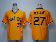 http://www.xjersey.com/pirates-27-tekulve-yellow-mn-jerseys.html PIRATES 27 TEKULVE YELLOW M&N JERSEYS Only 32.17€ , Free Shipping!