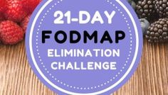 Join The Free 21-Day FODMAP Elimination Challenge