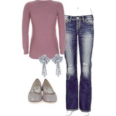 Soft Summer Casual, created by thaliathemuse on Polyvore